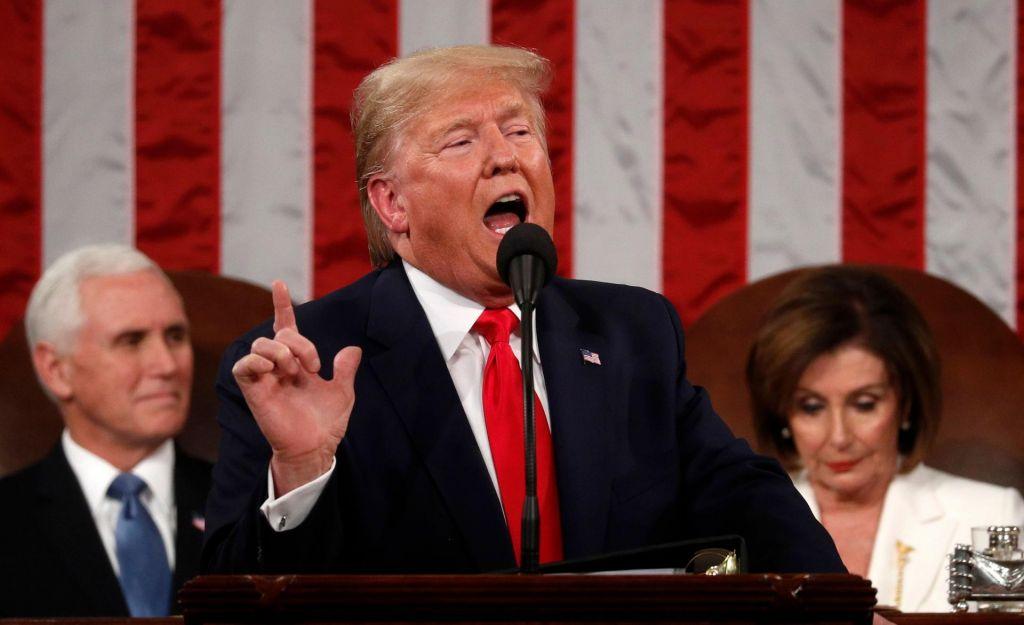 FOTO:Predsednikov govor svoji razklani državi