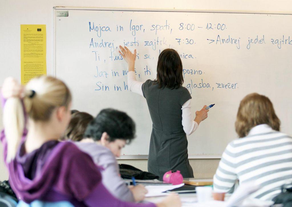 FOTO:Slovenščine se učijo po vsem svetu