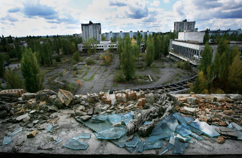 Posledice černobilske eksplozije za človeka morda koristne