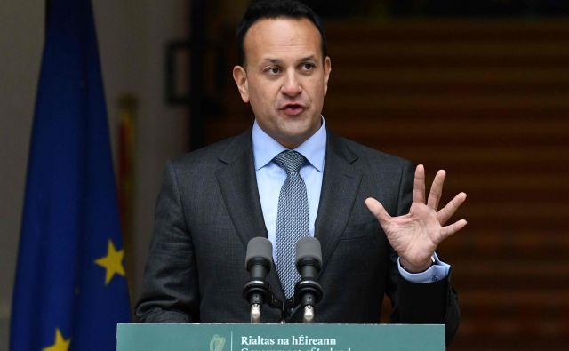 Leo Varadkar je leta 2017 postal 14. in najmlajši taoiseach v zgodovini irske republike. Foto: AFP