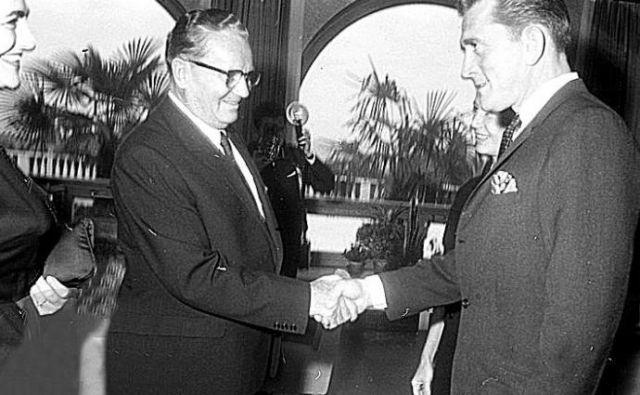 S predsednikom Titom leta 1964. FOTO: MNZS
