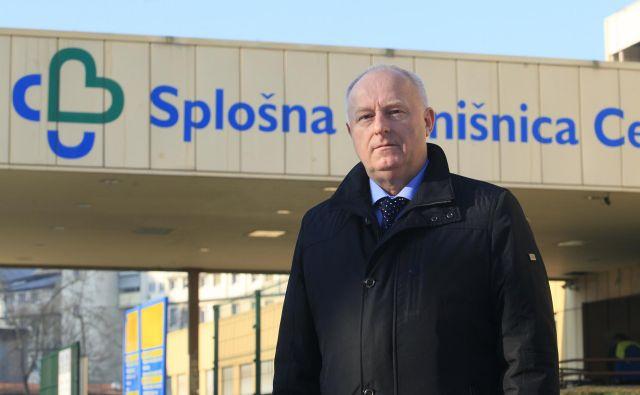 Nekdanji direktor Splošne bolnišnice Celje <strong>Marjan Ferjanc</strong> je ves čas zatrjeval, da je bila razrešitev politično motivirana. FOTO: Mavric Pivk/Delo