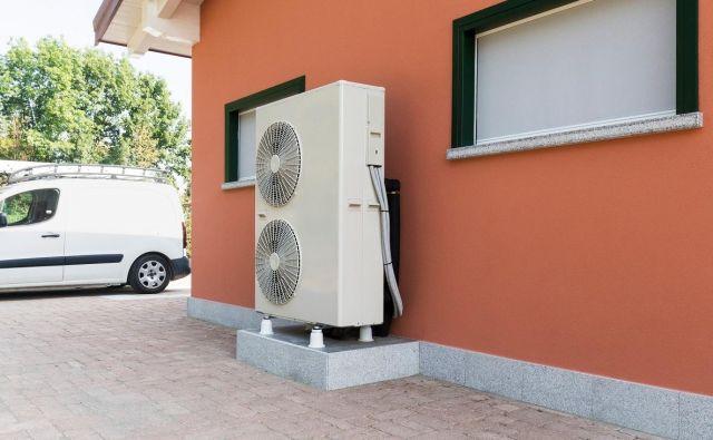Eko sklad je samo lani podelil 7000 subvencij za ogrevalne toplotne črpalke. Foto Shutterstock