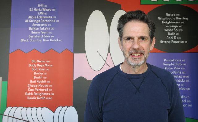 Tony Duckworth pravi, da se neodvisne založbe ukvarjajo s precej boljšo glasbo. Foto Zdenko Matoz