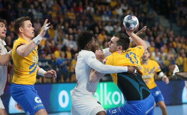 Josip Šarac je vse štiri gole dosegel v drugem polčasu. FOTO: Jože Suhadolnik