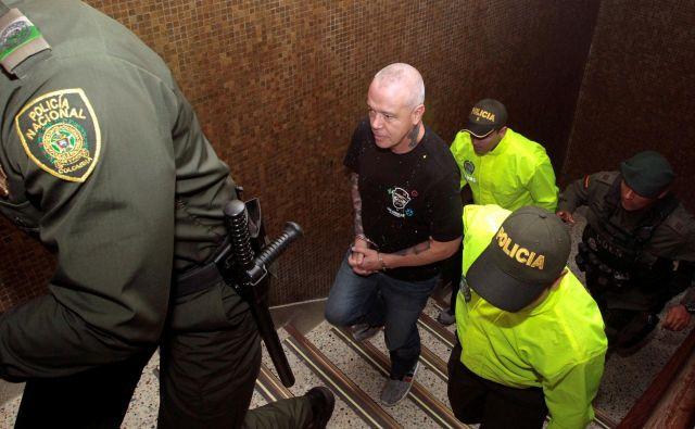Escobarjev telesni stražar Jhon Jairo Velásquez Vásquez, znan tudi kot Popaj, je bil večkrat za zapahi. FOTO: Reuters