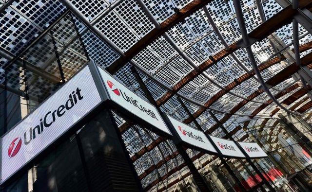 Mednarodna bančna skupina UniCredit je lani poslovala z visokim dobičkom. FOTO: AFP