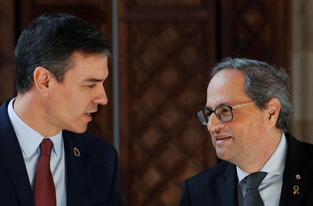 Madrid in Barcelona se pogovarjata