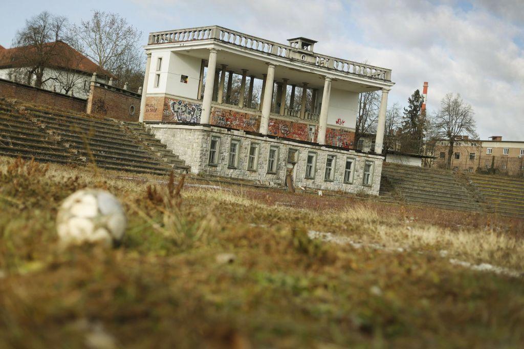 FOTO:Projekt prenove Plečnikovega stadiona ni idealen, je pa realen