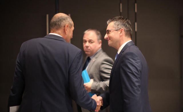 Prvak Marjan Šarec napoveduje, da sodelovanja s SDS ne bo, vsaj ne pred letom 2040. FOTO: Jure Eržen/Delo