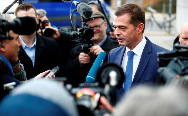 Mike Mohring, vodja turinške CDU. FOTO: Reuters