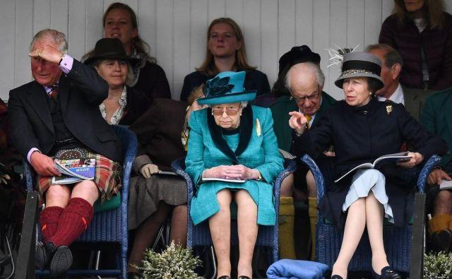 Kraljica Elizabeta II., princesa Anne Foto Gettyimages