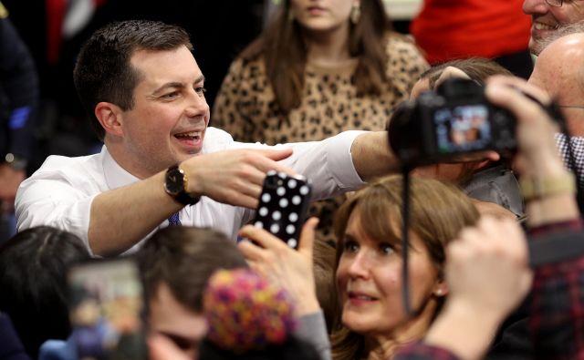 Pete Buttigieg zavrača očitke o neizkušenosti. Foto: Win Mcnamee/Afp