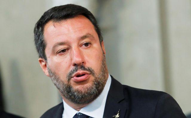 Salvini bo v Bazovici tudi letos.FOTO: Remo Casilli/Reuters
