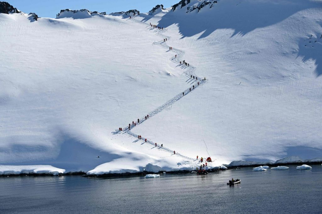 Nov temperaturni rekord na Antarktiki