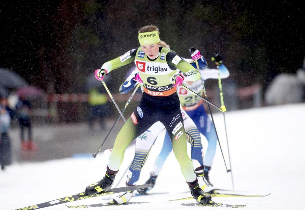 Norvežanka Johaug z zmago potrdila vodstvo v svetovnem pokalu, Lampičeva tokrat sedma