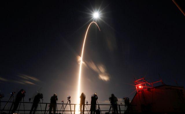 Solarni orbiter je s Floride odpotoval proti Soncu. FOTO:Joe Skipper/Reuters