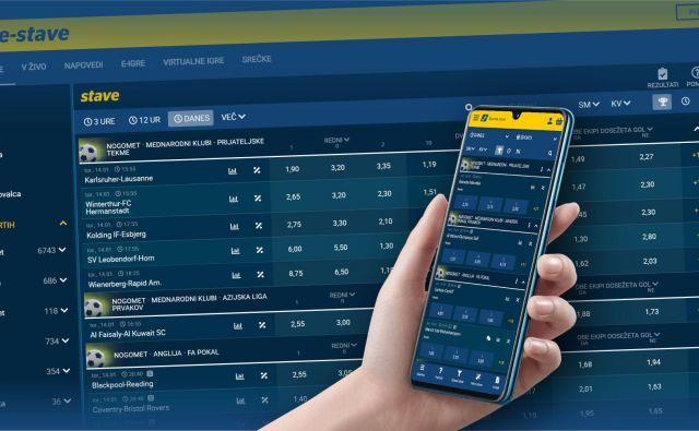 Optimiziran prikaz nove spletne strani glede na napravo<br /> FOTO: Športna Loterija