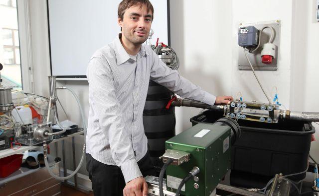 Dr. Matevž Dular je profesor in raziskuje na Fakulteti za strojništvo Univerze v Ljubljani. Foto Osebni Arhiv