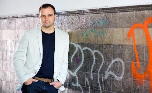 O zadnjih dveh romanih hrvaškega pisatelja Kristiana Novaka bi lahko dejali, da sta veliki in posebni literarni mojstrovini. Foto Mirko Cvjetko