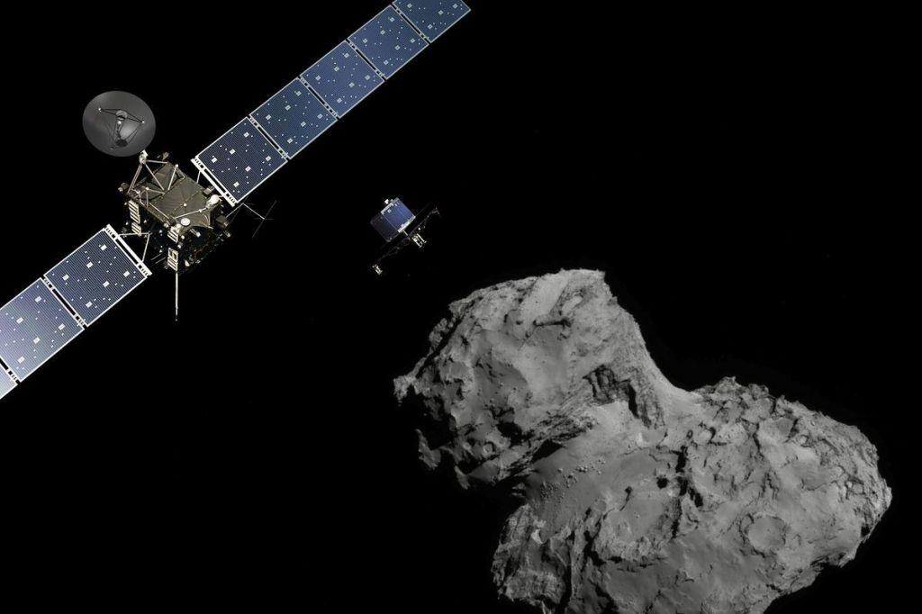 FOTO:Sonda, ki potuje na kometu