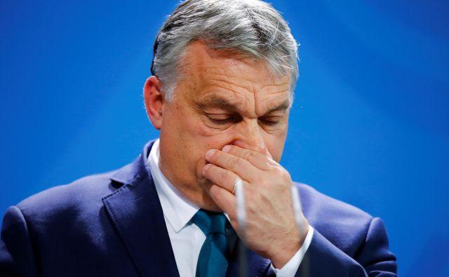 Zaradi izdatnih pomoči madžarske države imajo premiera Viktorja Orbána radi tudi v »diaspori«. Foto: Reuters