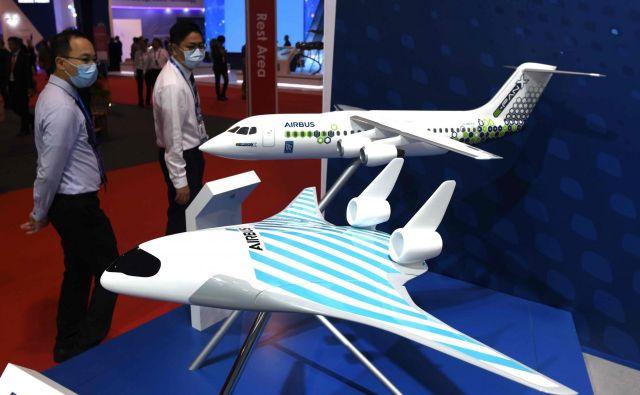 Pri Airbusu nimajo specifičnega časovnega okvira, kdaj naj bi novo tehnologijo uvedli na trg. FOTO: Roslan Rahman/AFP