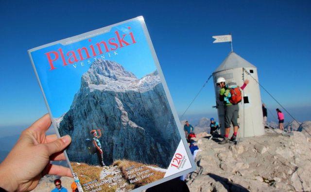 Tudi na slovenskem vrhu vseh vrhov. FOTO: Manca Ogrin