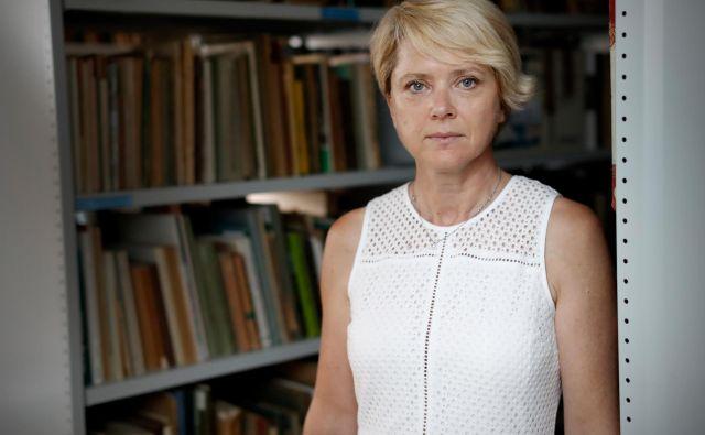 <strong>Natalija Polenec</strong> verjame, da je za vodenje Tehniškega muzeja bolje usposobljena kot Barbara Juršič, ki jo je za direktorico imenoval minister. Foto Uroš Hočevar