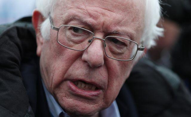 Kdo se boji Bernieja Sandersa? FOTO: Joe Raedle / Afp