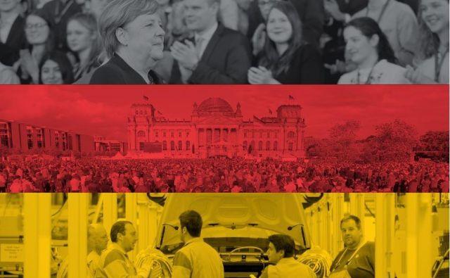 Nemška industrijska proizvodnja se je lani zmanjšala za skoraj sedem odstotkov, kažejo zadnji decembrski podatki. V težavah sta predvsem avtomobilska in kemična industrija. Foto: Delo