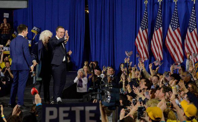 Demokratski predsedniški kandidat Pete Buttigieg. Foto: Joseph Prezioso/Afp