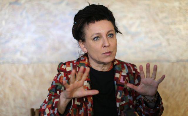 Olga Tokarczuk se bo predstavila z zbirko kratkih zgodb.<br /> Foto Tomi Lombar