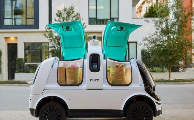 Za razliko od večine projektov na področju avtonomnih vozil Nuro ni namenjen prevozu oseb.<br /> FOTO: Nuro