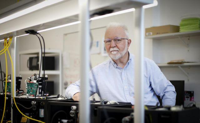 Anthony Hansen, znanstvenik in izumitelj<br /> Foto Matej Družnik