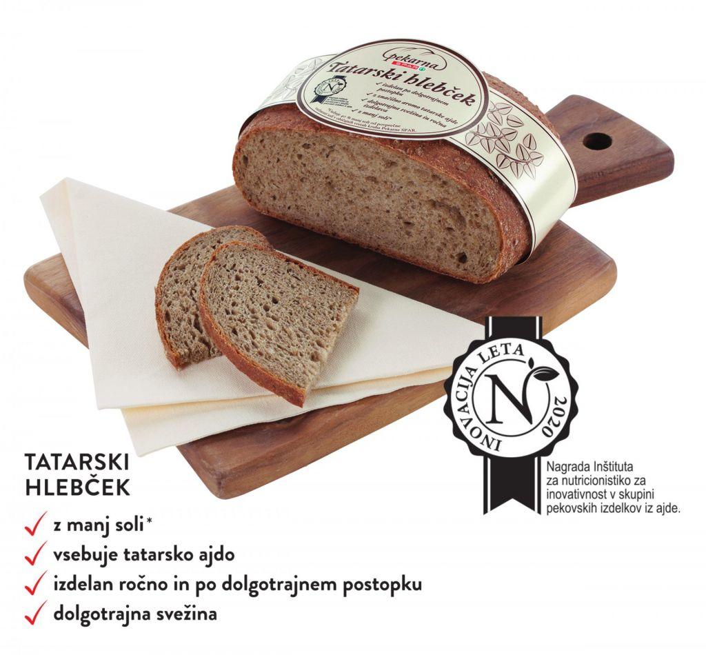 Katera pekarna v Sloveniji je najbolj inovativna?