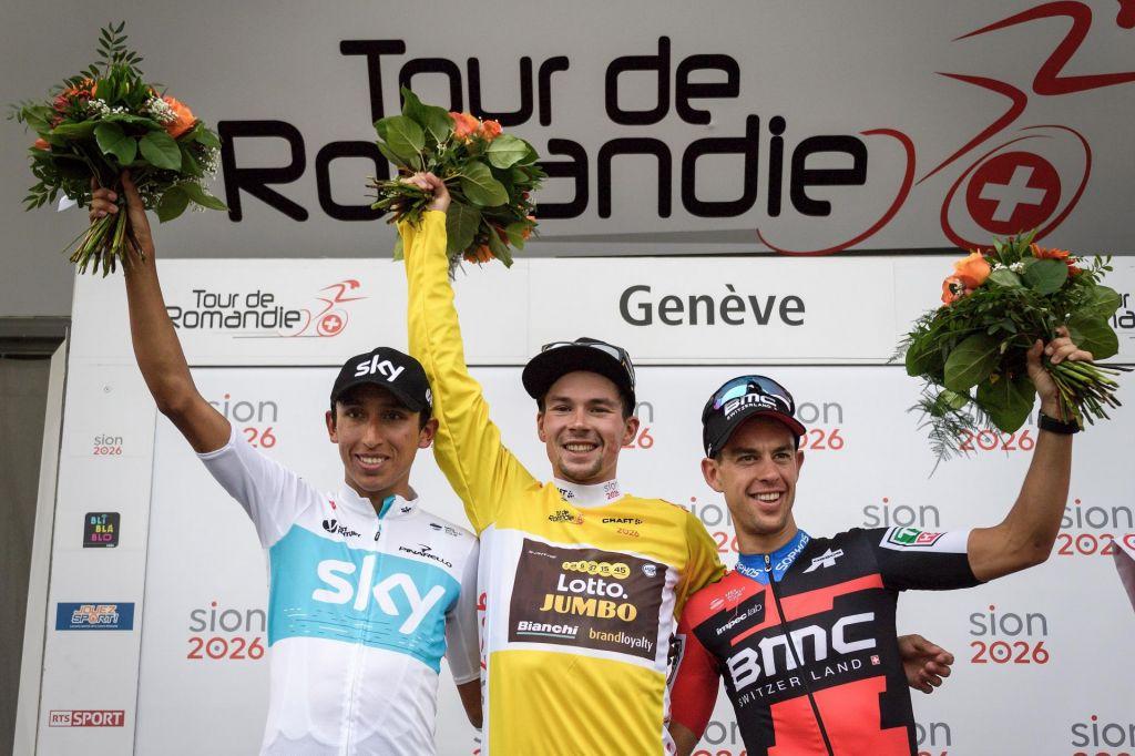 FOTO:Bernal: na Touru bo najnevarnejši Roglič