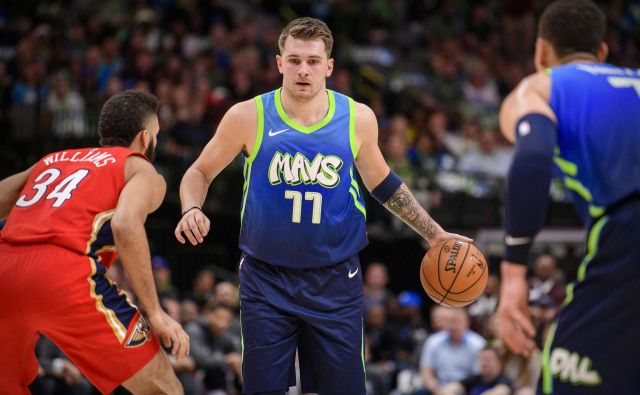 Luka Dončić (77) se veseli vikenda All-Star NBA. FOTO: USA Today Sports