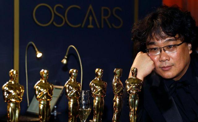 Potem ko je dobil štiri oskarje, je Bong postal kultni režiser ne le v svoji državi, kjer je to že dolgo, temveč tudi na mednarodnem prizorišču. Foto Reuters