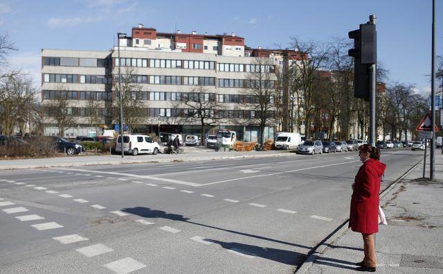 Čeprav je stavba na Linhartovi 13 v državni lasti že slabi dve leti, se obnovitvena dela še niso končala. Foto Blaž Samec