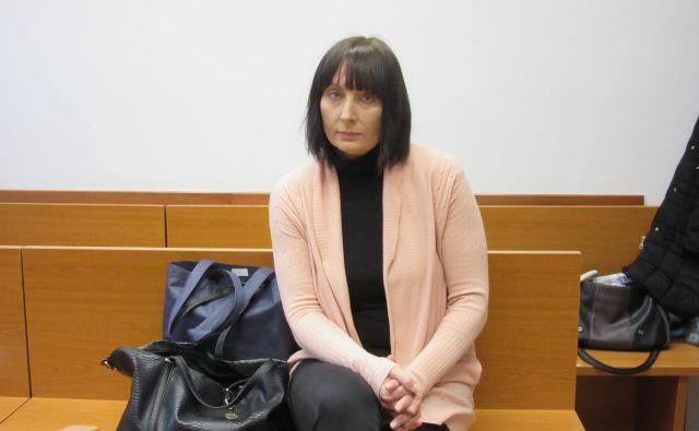 Tadeja Falnoga je zaradi poslovne goljufije pravnomočno obsojena na dve leti zapora. FOTO: Špela Kuralt/Delo
