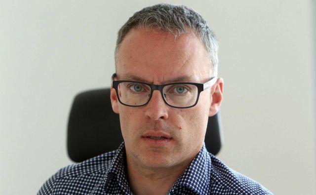 Dr. Sašo Rebolj, urgentni in družinski zdravnik ter direktor Zdravstvenega doma v Kamniku. Foto Igor Mali/Slovenske Novice
