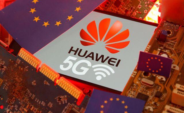 Huaweiu in ZTE je v zadnjih 15 letih uspelo povečati njun skupni tržni delež v Evropi na več kot 40 odstotkov. Foto Reuters