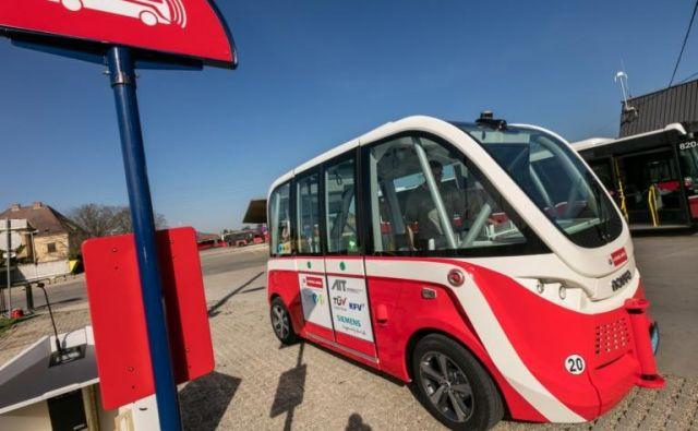 Poleg tramvaja, podzemne železnice in avtobusov na Dunaju uvajajo še avtonomne avtobuse. FOTO: Helmer Manfred/Wiener Linien