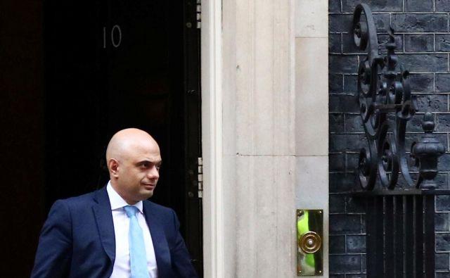 Sajid Javid ni več britanski finančni minister. FOTO: Hannah McKay/Reuters