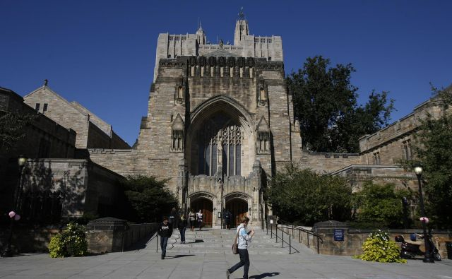 Univerza Yale še ni komentirala obtožbe, da niso prijavili za 375 milijonov sredstev iz tujine. FOTO: Shannon Stapleton/Reuters