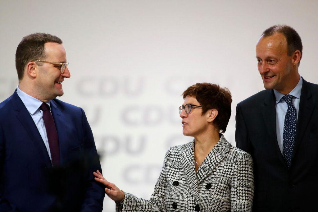 Iskanje novega predsednika CDU v polnem teku