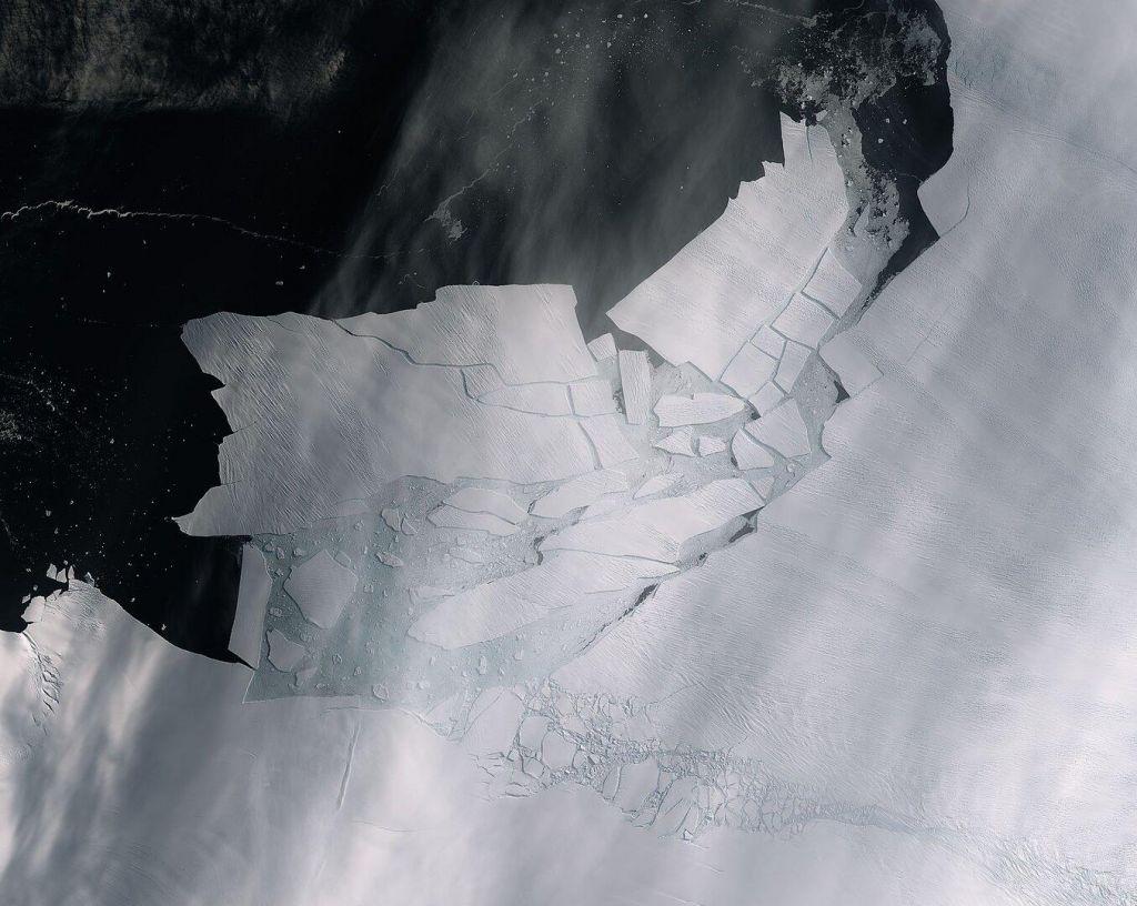 Na Antarktiki namerili več kot 20 stopinj Celzija