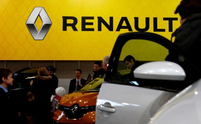 Tudi Renault se sooča s slabšim poslovanjem. FOTO: Reuters