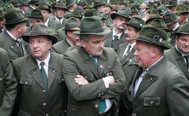 Lovci so oboroženi slovenski domoljubi, ki so stacionirani po vsej Sloveniji in poznajo vsako ped slovenske zemlje. Foto Igor Zaplatil